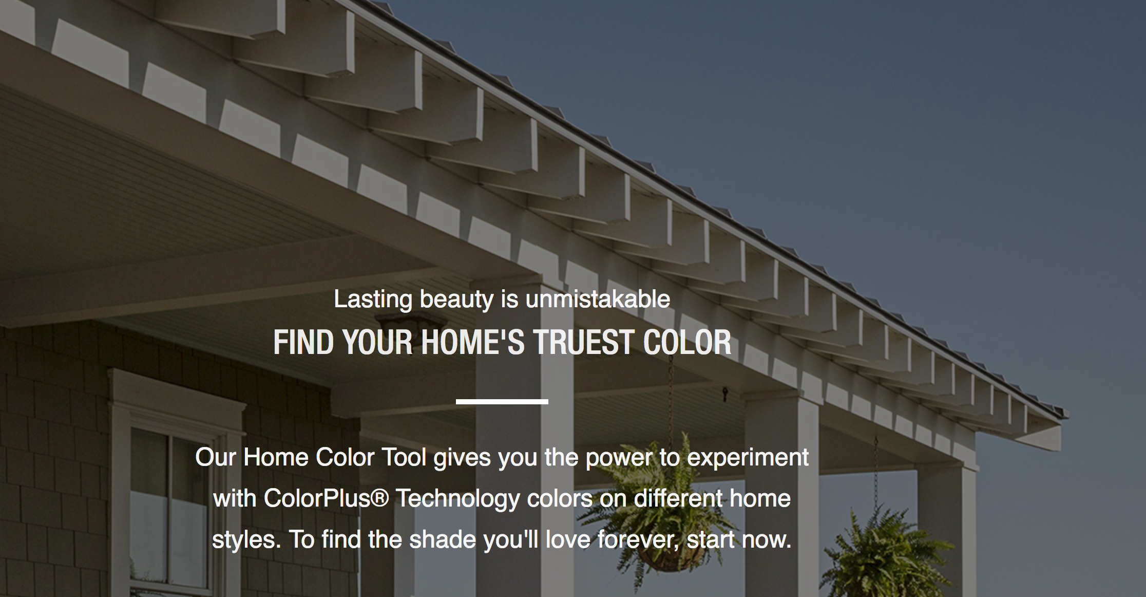 James Hardie Link to Exterior House Color Visualizer