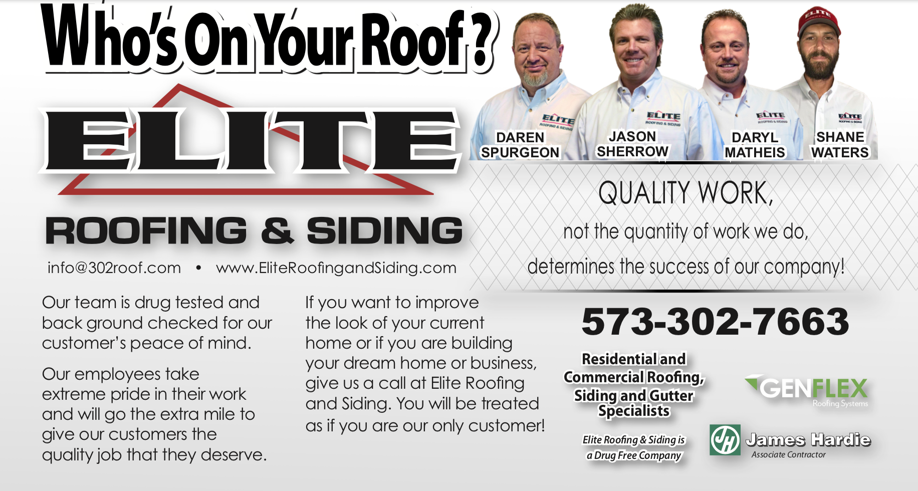 Elite Roofing and Siding Team